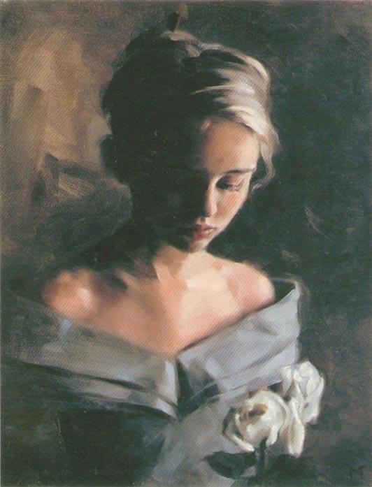 Майлз Уильямс Матис. Белые розы
