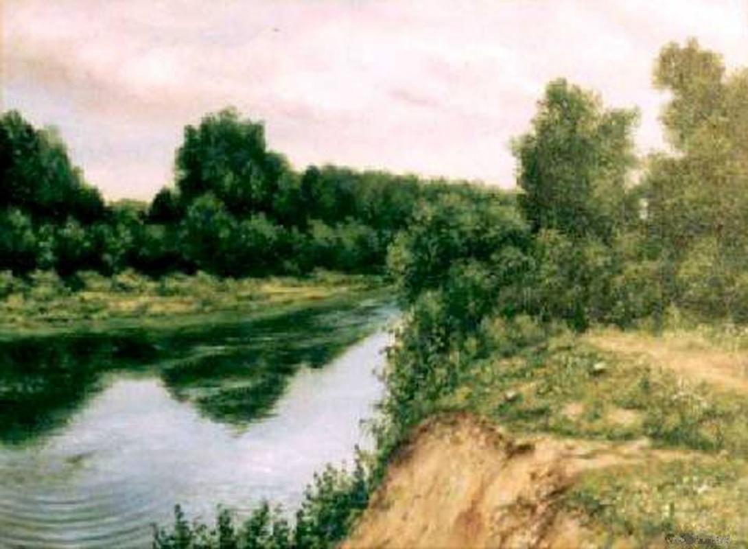 Vladimir Vasilyevich Abaimov. The Bank of the River Inya