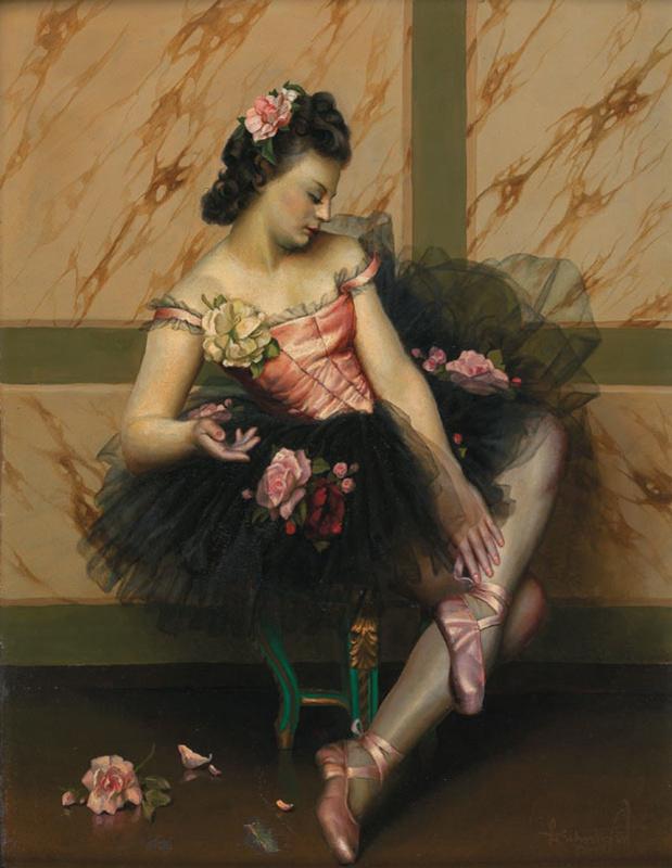 Лев Смарагдович Чистовский. Балерина