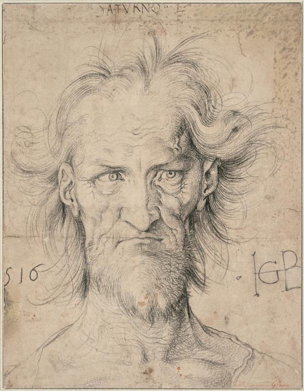 Albrecht Durer. Portrait of an old man. (Saturn)