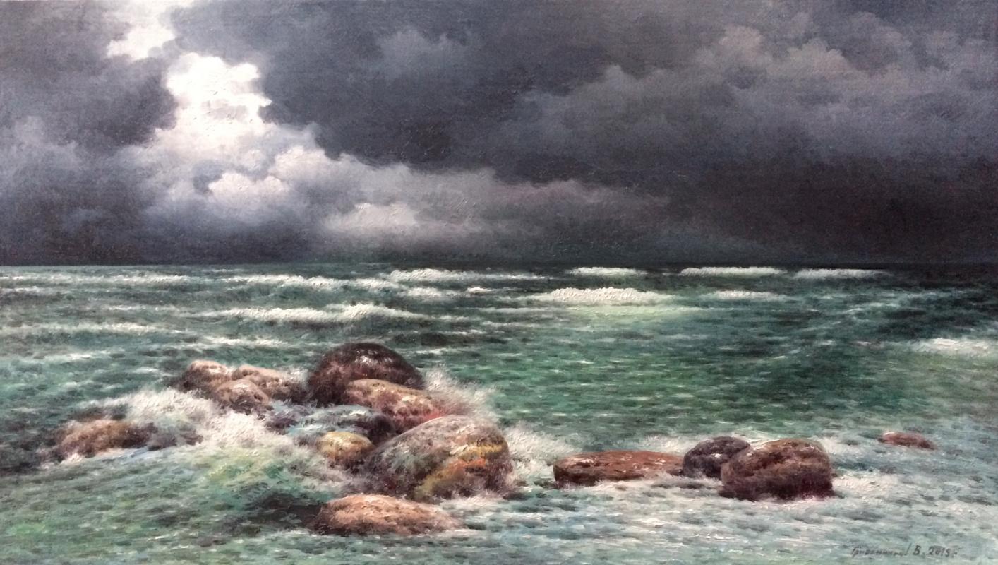 Vasily Ivanovich Gribennikov. Before the storm