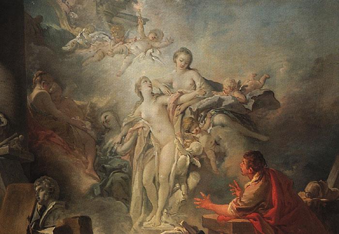 Francois Boucher. Pygmalion and Galatea