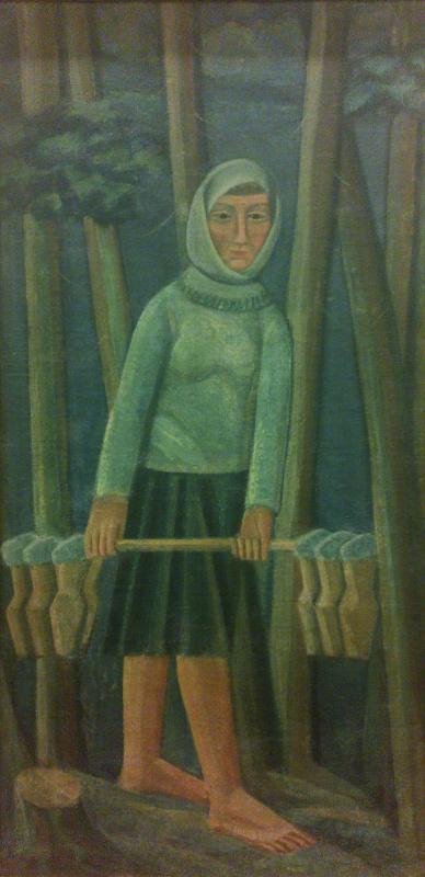 Михаил Львович Бойчук. Молочница