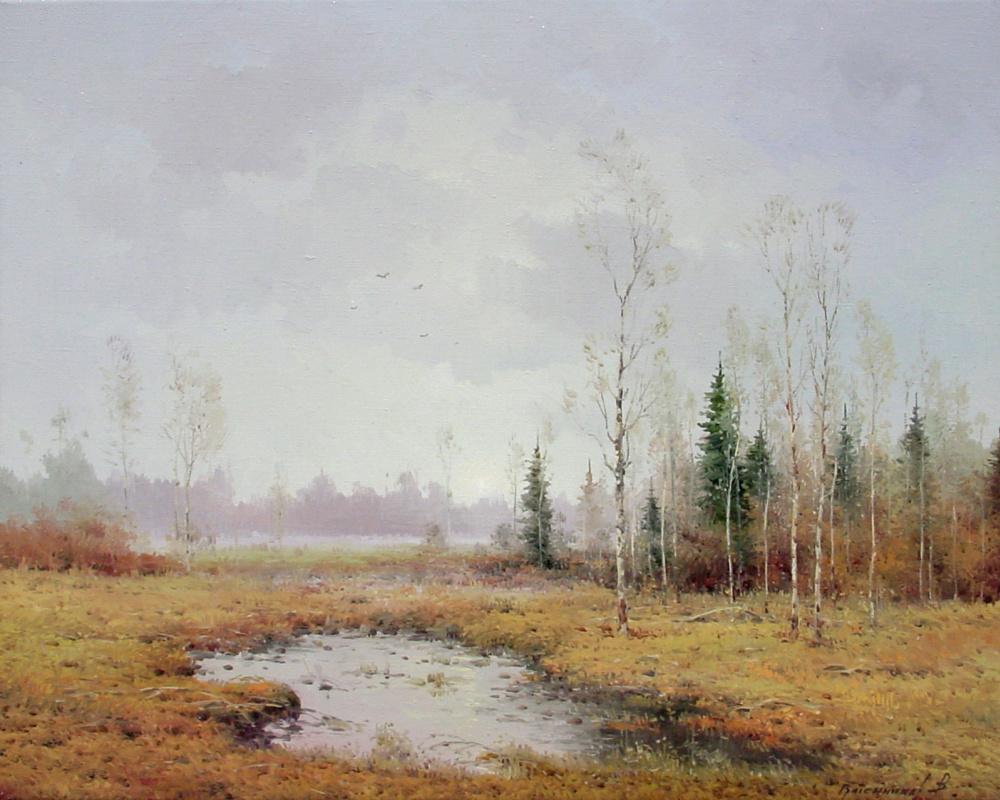 Василий Иванович Грибенников. Осенняя тишина