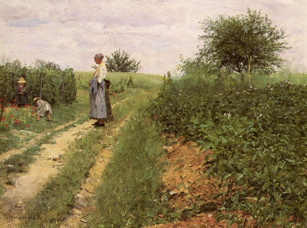 Эрик Теодор Вереншельда. Выбор цветов
