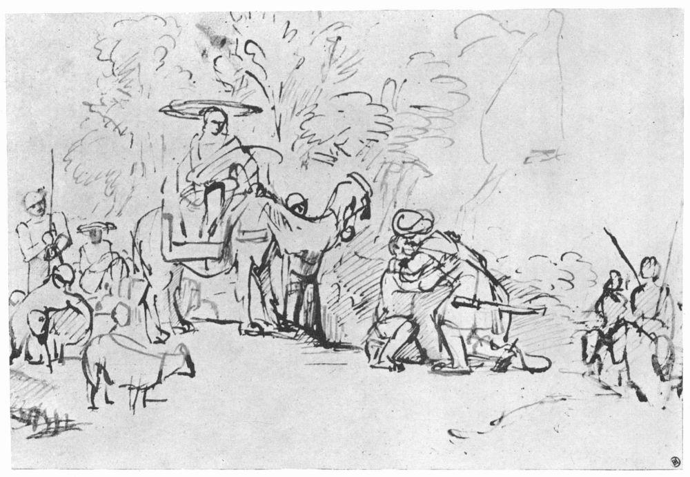 Рембрандт Ван Рейн. Примирение с Исавом