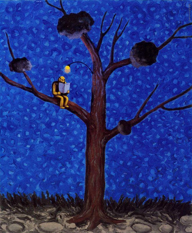 Симонид. Чтение на дереве
