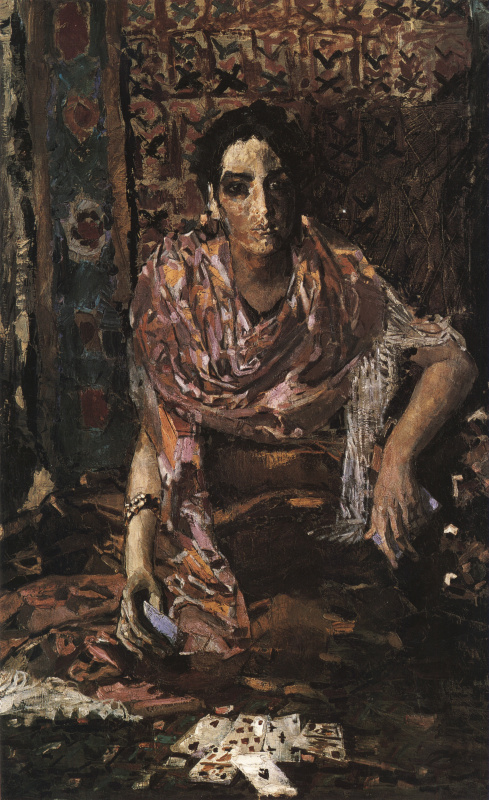 Mikhail Vrubel. The fortune teller