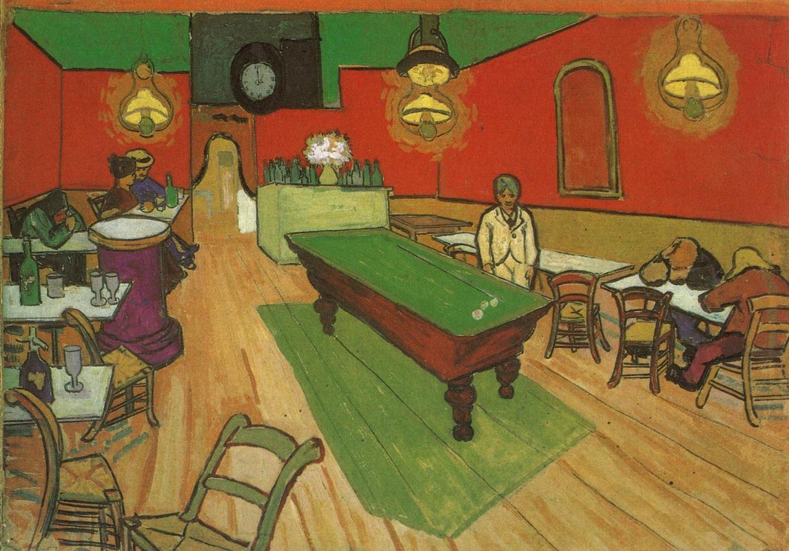 Винсент Ван Гог. Ночное кафе (вариант)