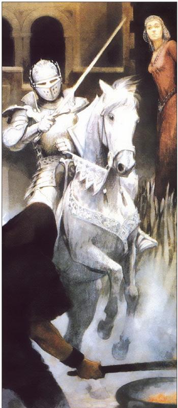 Юлек Хеллер. Белый конь