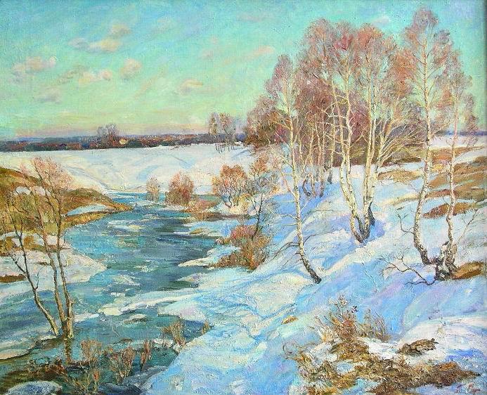 Tatiana Gennadievna Sorogina. Blue spring