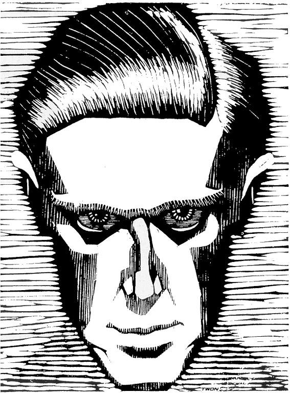 Мауриц Корнелис Эшер. Автопортрет3