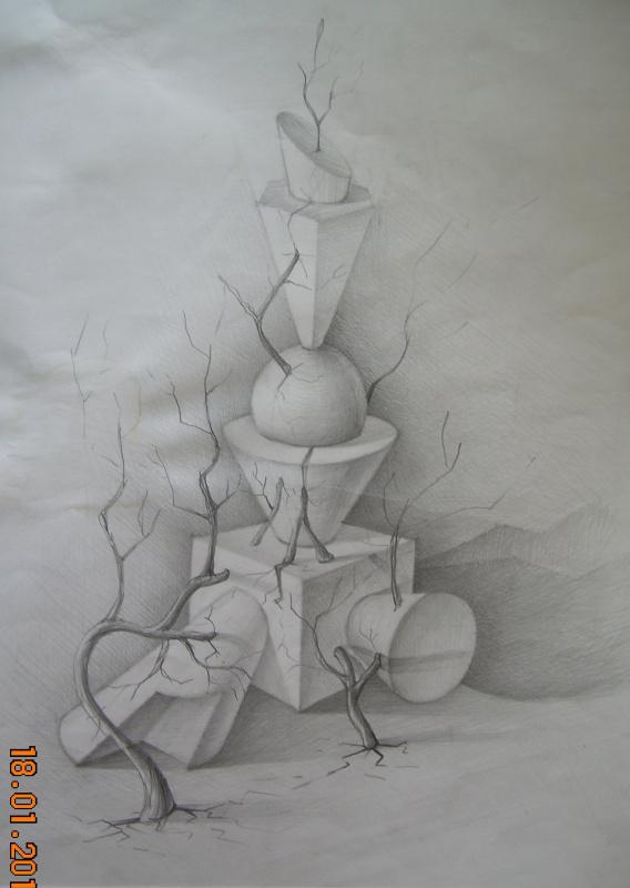 Композиция Учебный рисунок