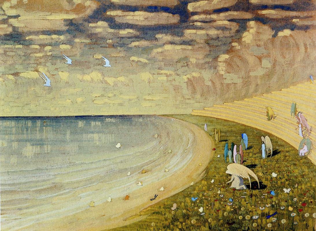 Mikalojus Konstantinas Ciurlionis. Paradise