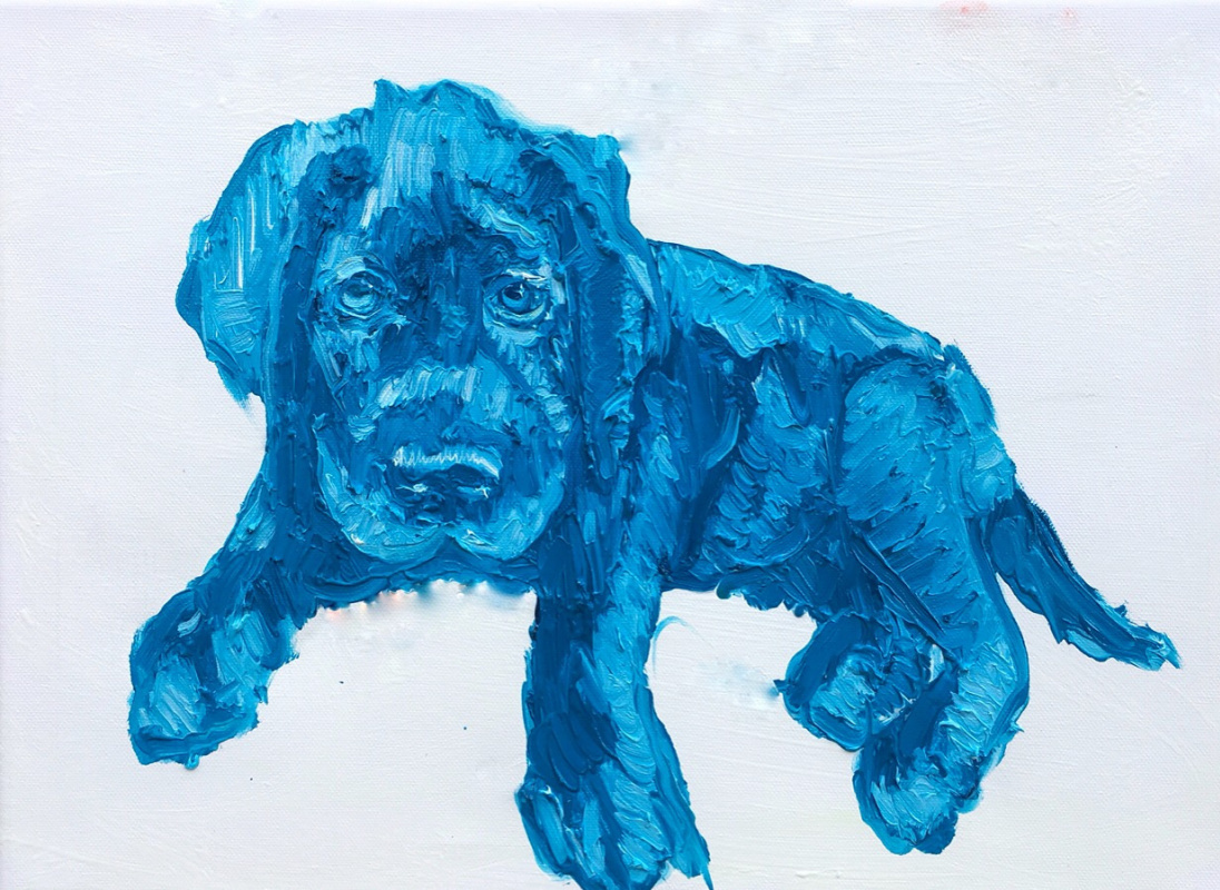 Makar Ilyich Maximov. Blue