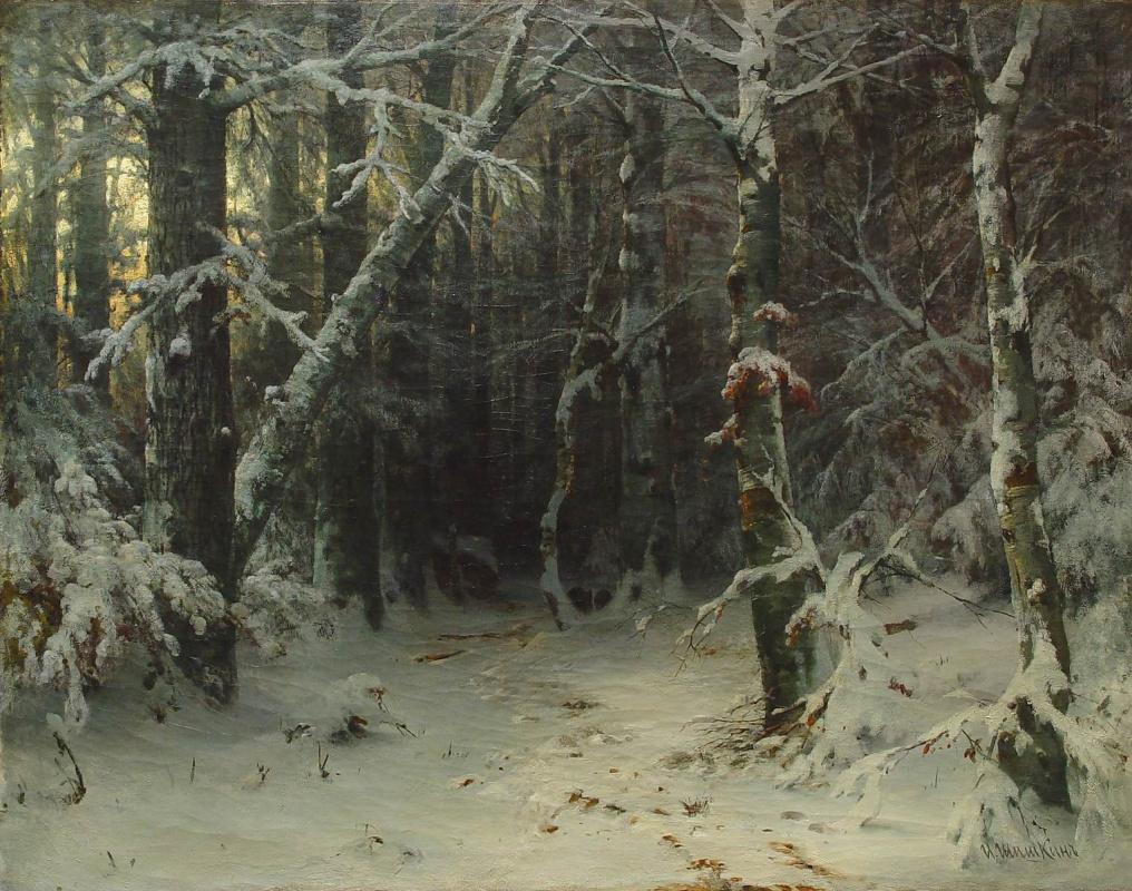 Иван Иванович Шишкин. Зимний лес