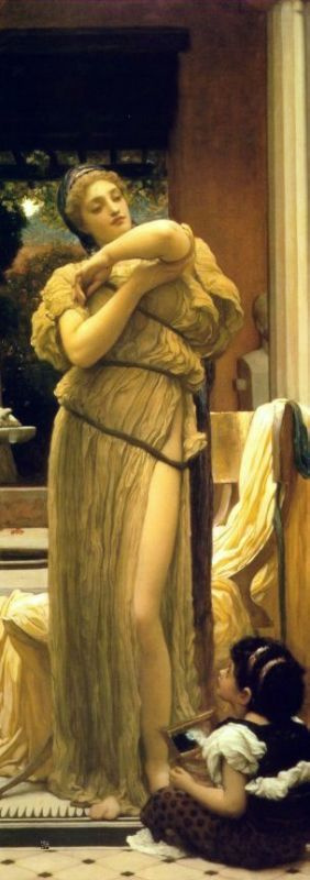 Frederic Leighton. Plot 6