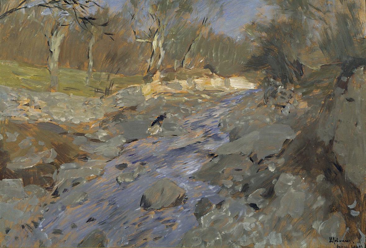 Isaac Levitan. Spring in Crimea