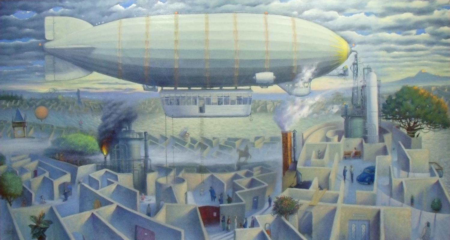Sergey Bereg. Airship
