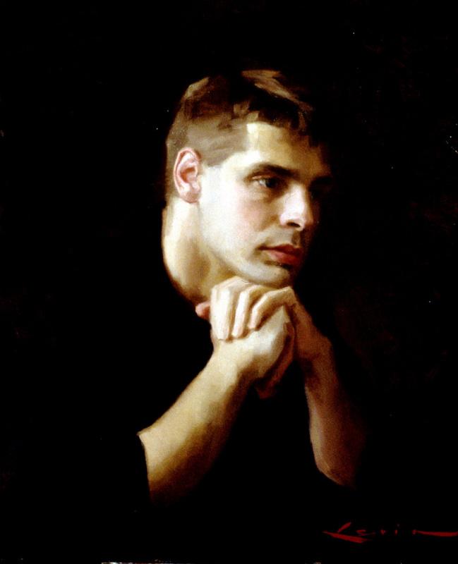 Стивен Дж Левин. Портрет молодого человека