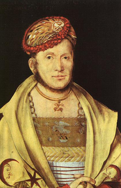 Ганс фон Кульмбах. Портрет