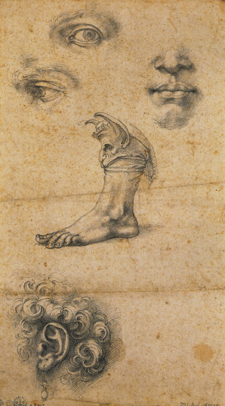 Benvenuto Cellini. Five sketches