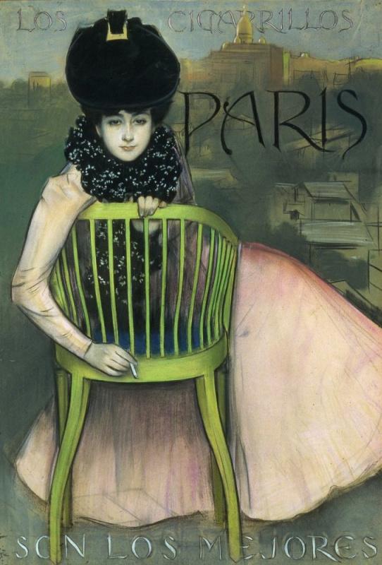 Ramon Casas i Carbó. Paris, Montmartre