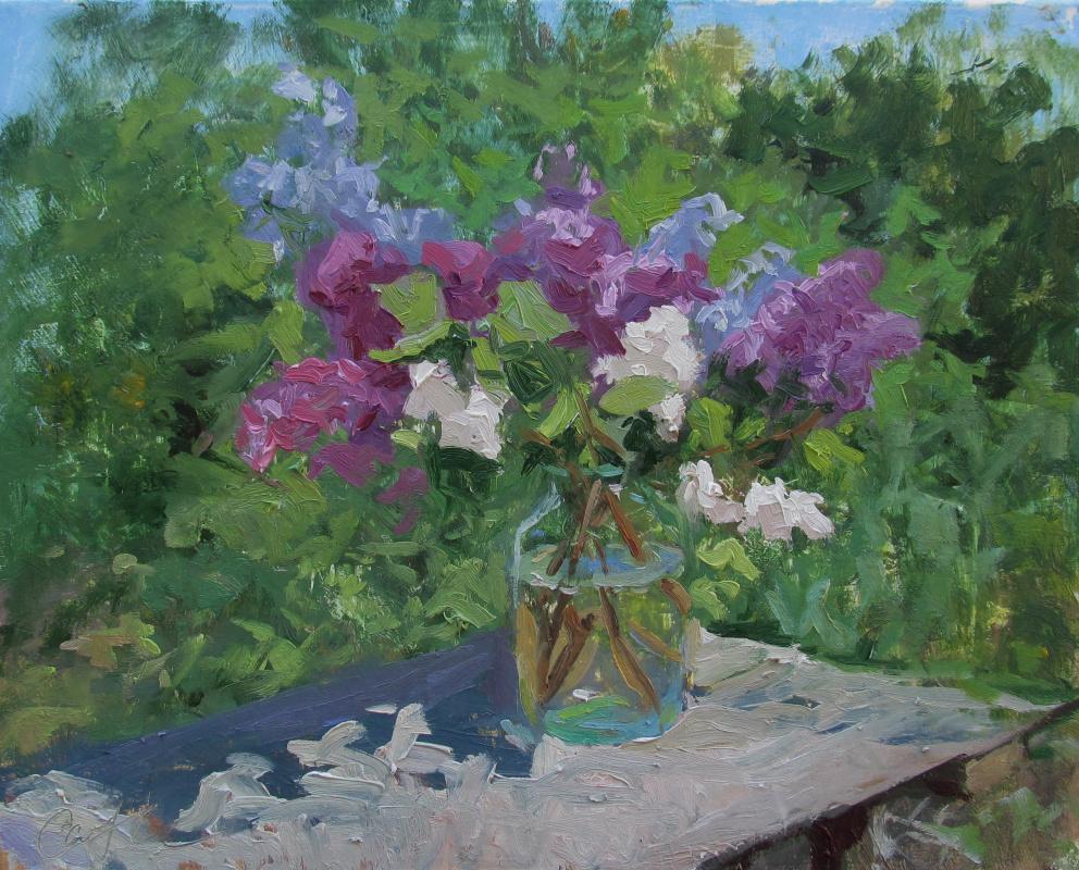 Igor Simelin. Lilac