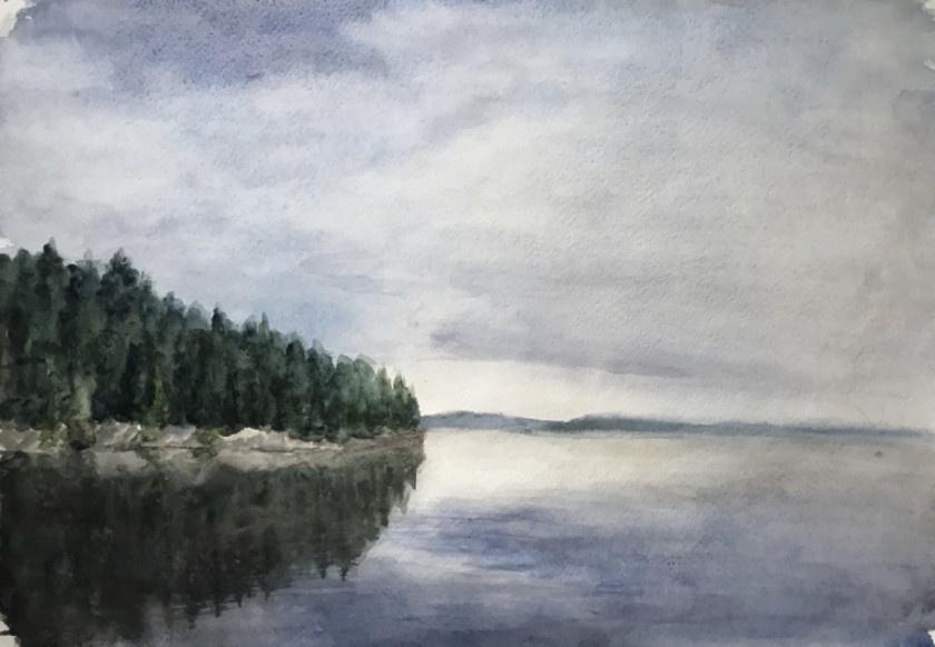 Anastasia Oraina. Chusovaya River