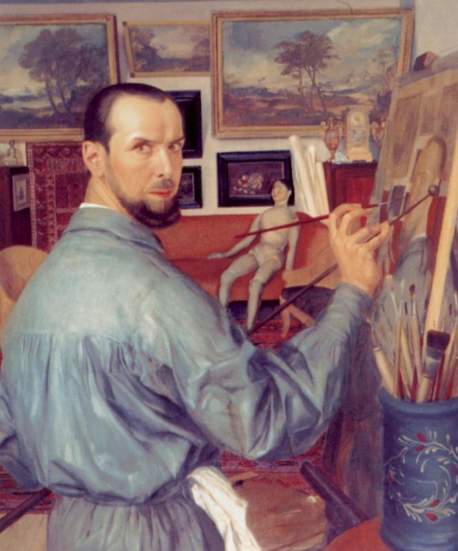 Alexander Yakovlev. Self-portrait