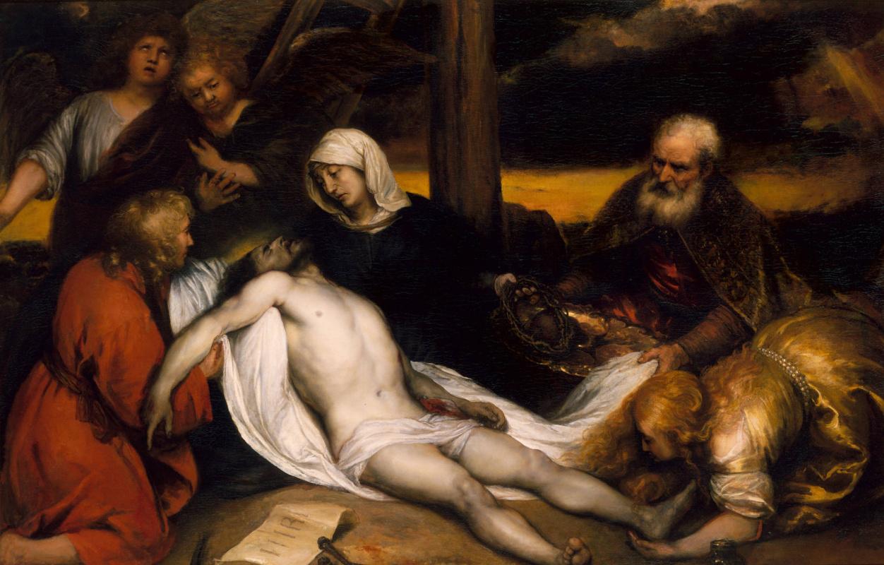 Ян Ливенс. Оплакивание Христа