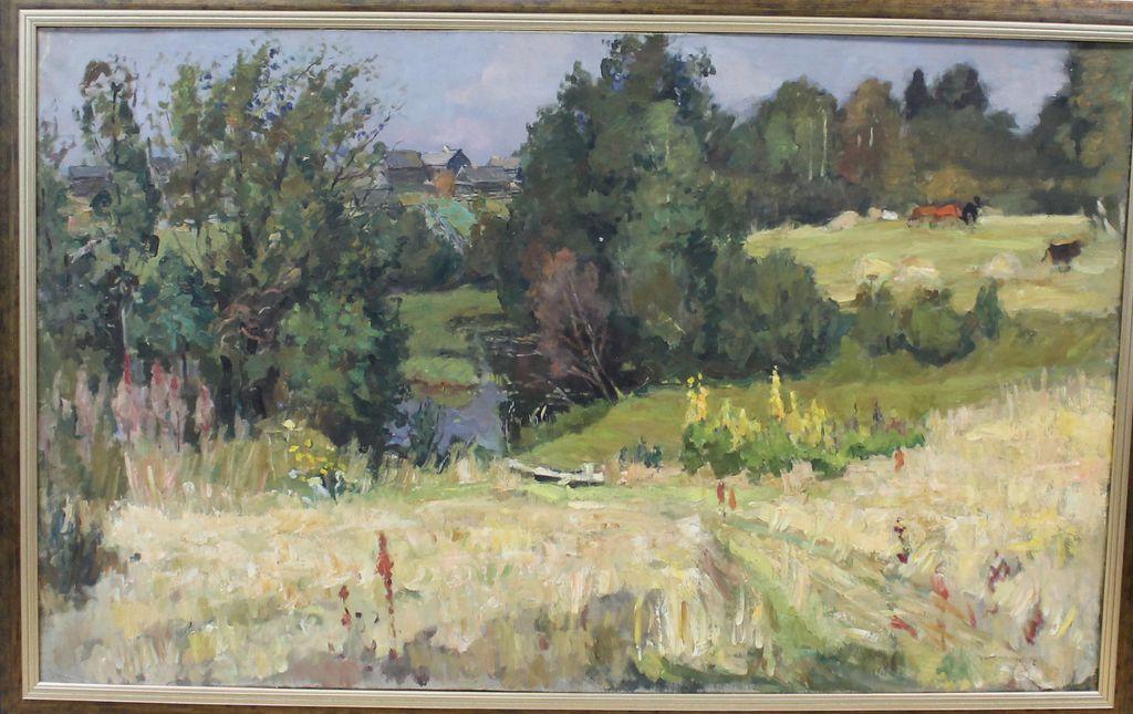 Nina Leonidovna Veselova. Rural landscape