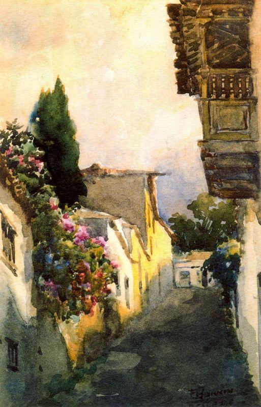 Франсиско Боннин. Цветы