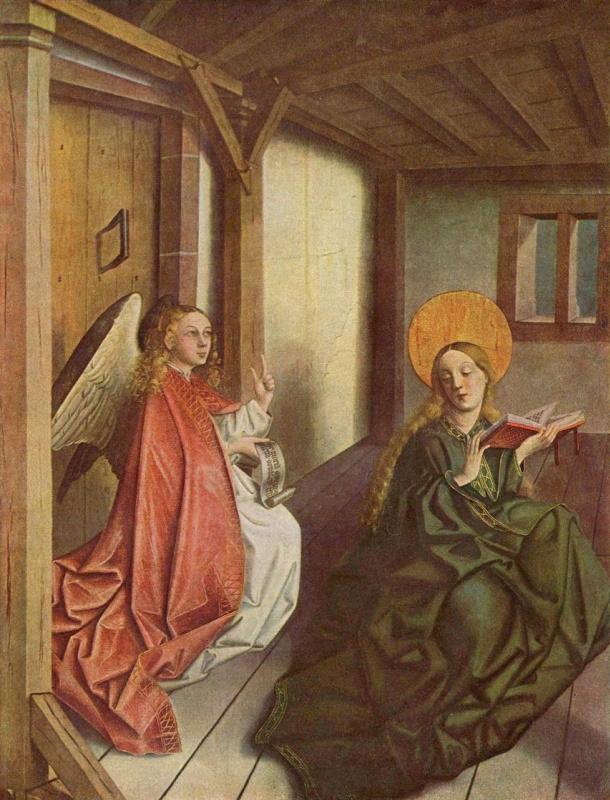 Конрад  (Витц) Виц. Благовещение Марии