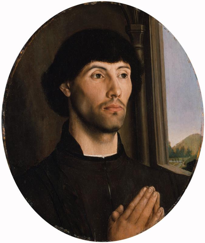 Хуго ван дер Гус. Портрет мужчины