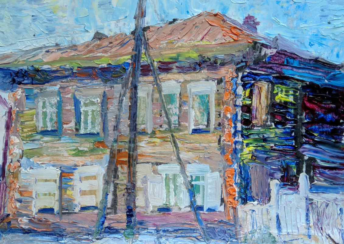"Александр Ломаев. ""Dzerzhinsky Street. 2019 """