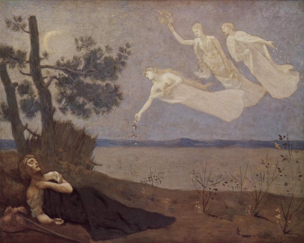 Pierre Cecil Puvi de Chavannes. Dream