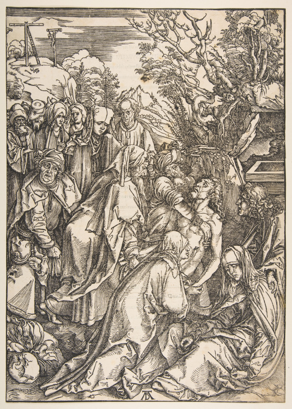 Albrecht Durer. The Burial Of Christ