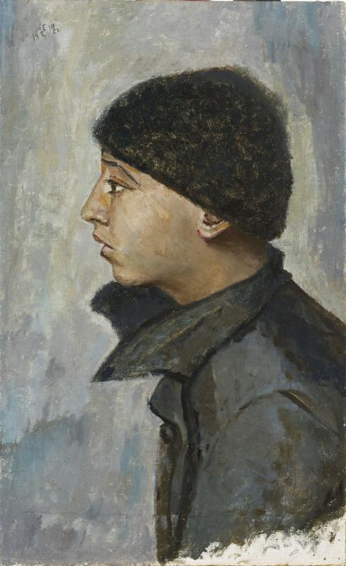 Юдель Пэн. Голова еврейского мальчика