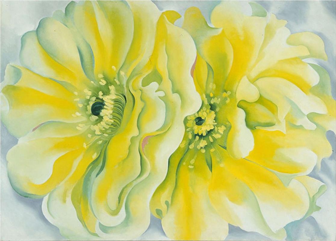 Georgia O'Keeffe. Yellow cactus