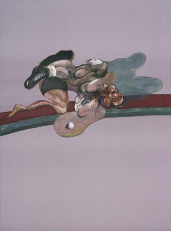 Francis Bacon. Triptych in memory of George Dyer. Fragment