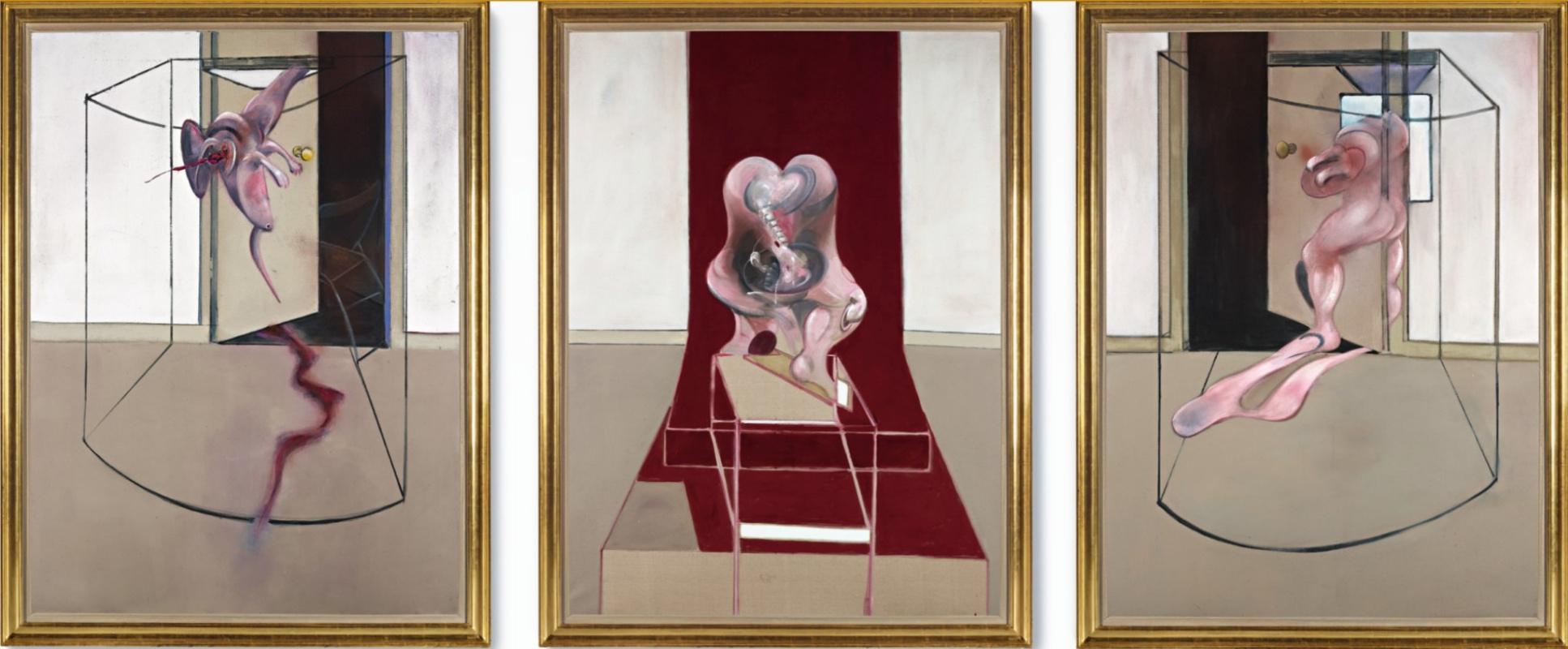 Francis Bacon. Triptych