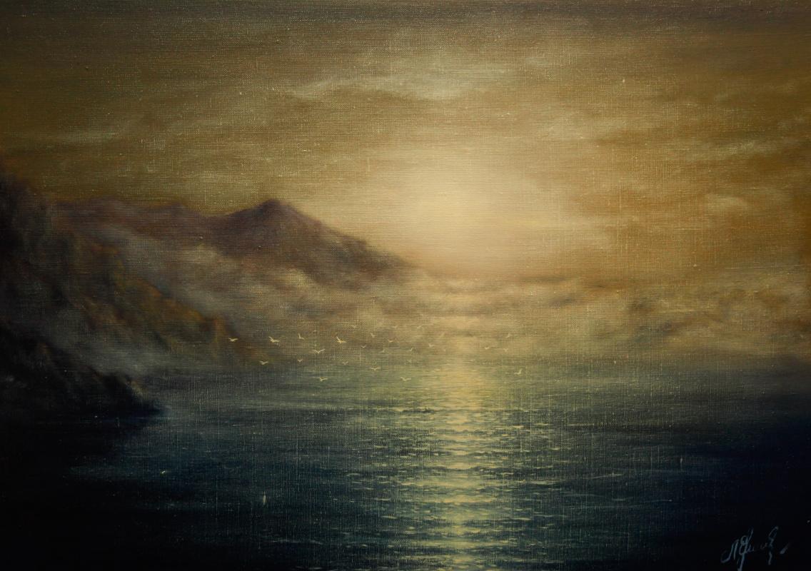 Valery Levchenko. No. 118a Fog in the bay