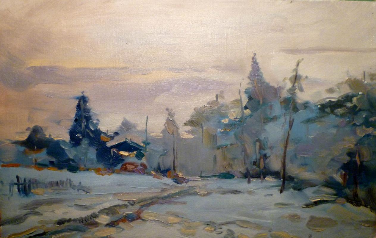 Vitaliy Nikolaev. Frosty evening