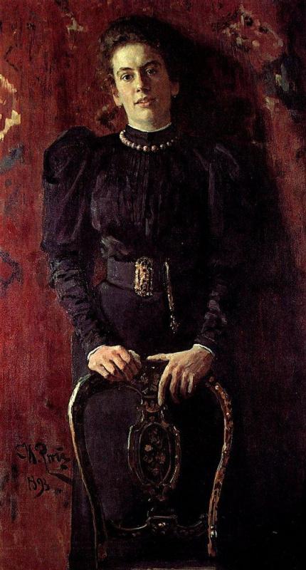 Ilya Efimovich Repin. Portrait Of T. L. Tolstoy
