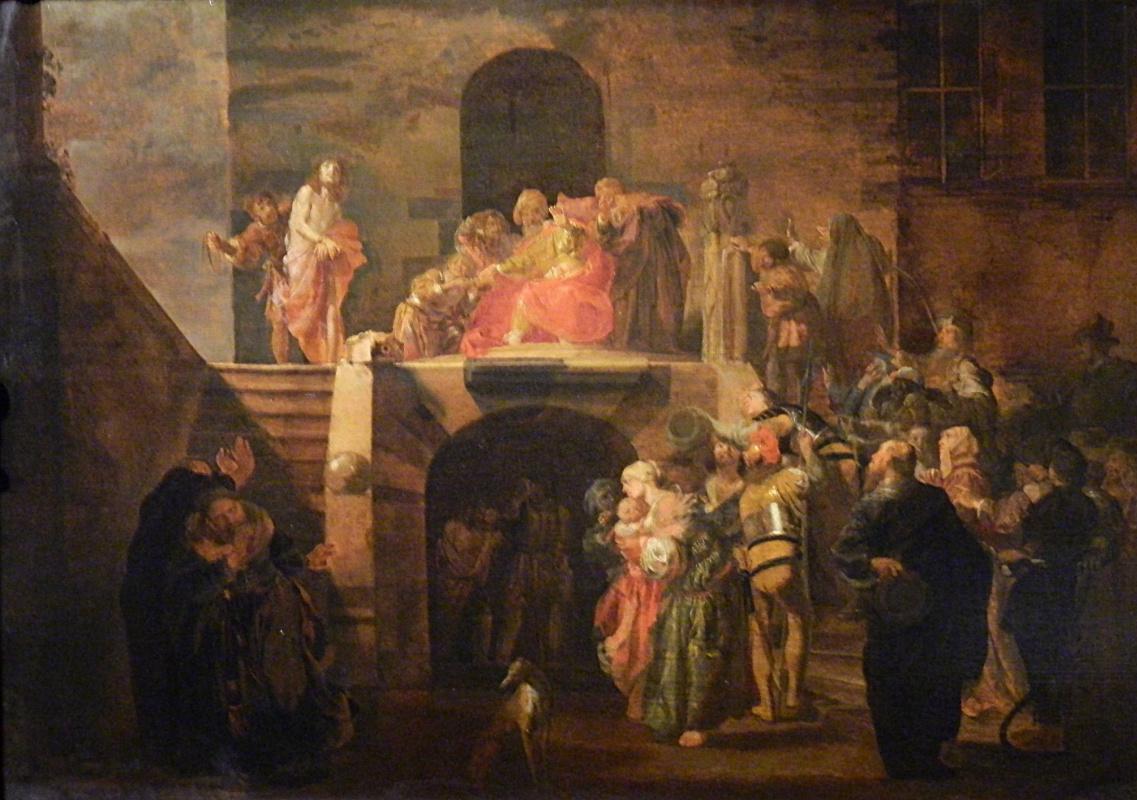 Nikolaus Knupfer. Pilate, wash your hands