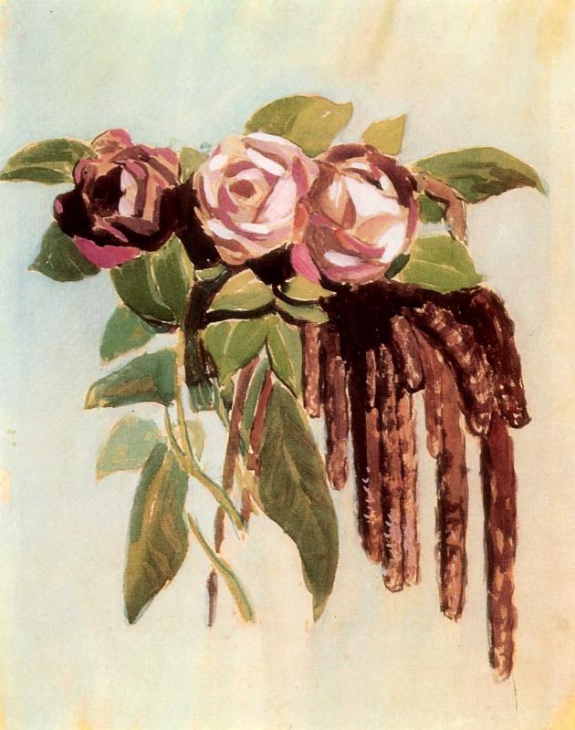 Виктор Эльпидифорович Борисов-Мусатов. Розы и сережки