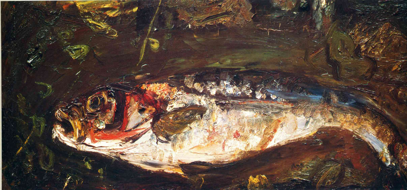 Chaim Soutine. Fish