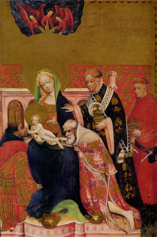 Конрад фон Зост. Алтарь Святой Марии. Фрагмент: Поклонение волхвов