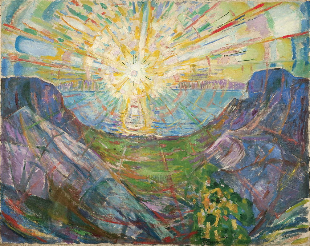 Edvard Munch. The sun